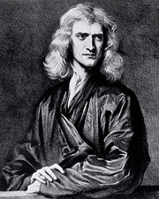 The English physicist and mathematician I. Newton