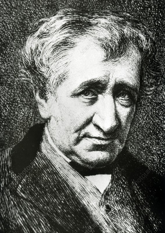 Portrait of Scottish engineer, James Nasmyth