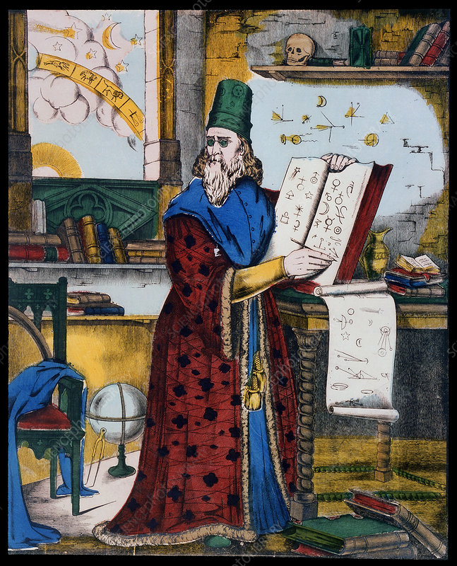 Nostradamus, physician and astrologer