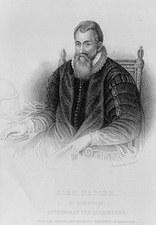 Portrait of the Scottish mathematician John Napier
