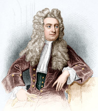Isaac Newton, English physicist