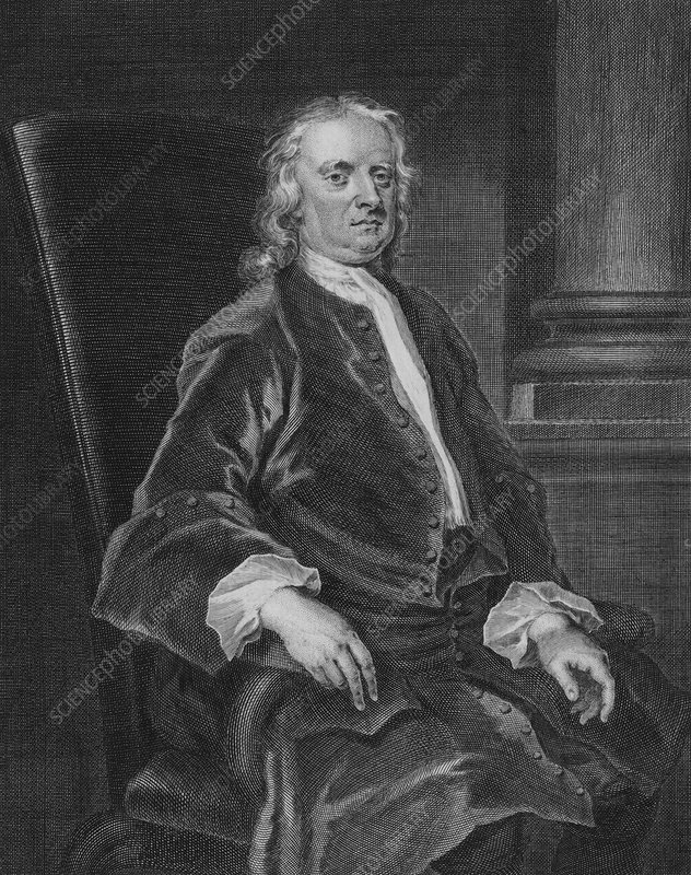 Sir Isaac Newton, English physicist