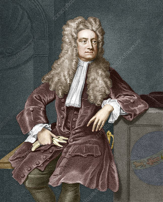 Sir Isaac Newton, British physicist