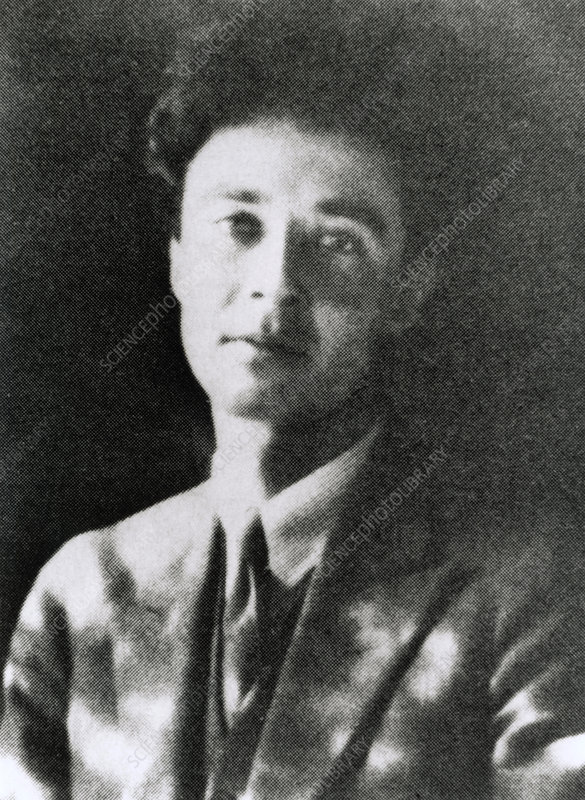 Portrait of J. Robert Oppenheimer, aged 22