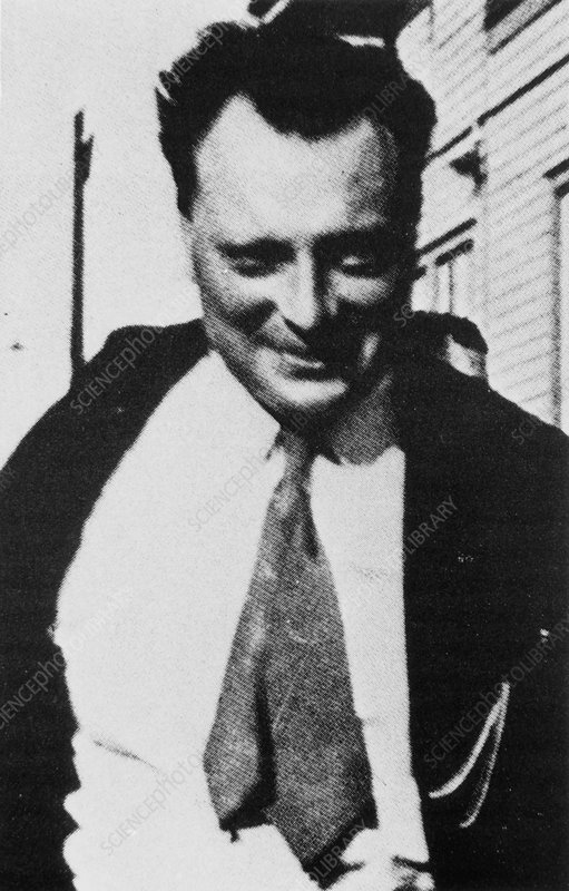 Portrait of Wolfgang Pauli