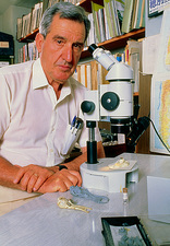 Portrait of palaeontologist, Prof. Rosendo Pascual