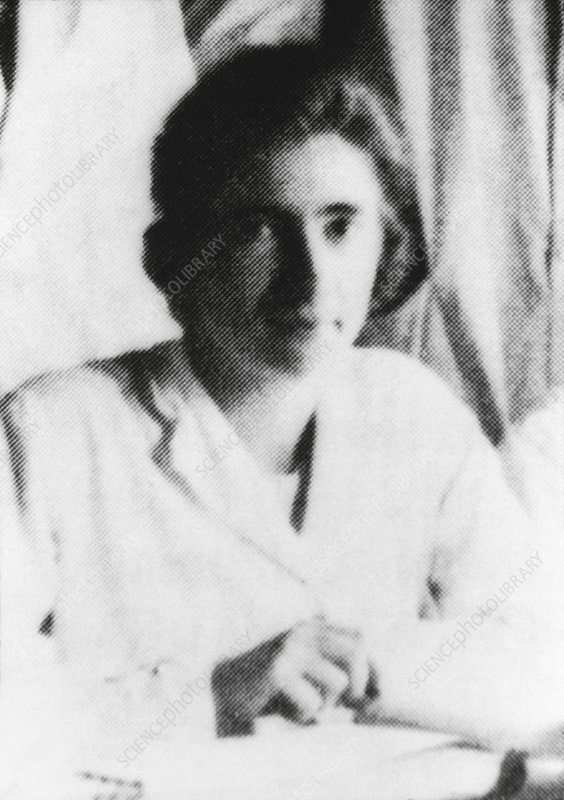 The French nuclear chemist Marguerite Perey