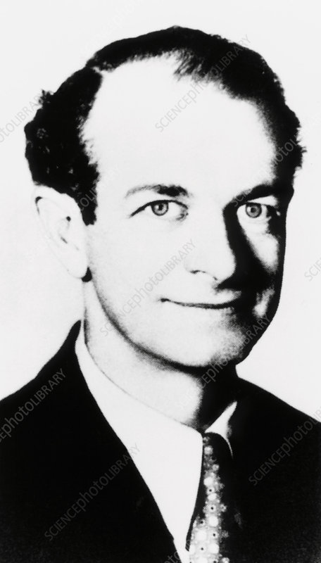 Portrait of Linus Pauling