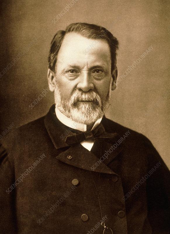 Portrait Of The French Chemist Louis Pasteur Stock Image H4160115