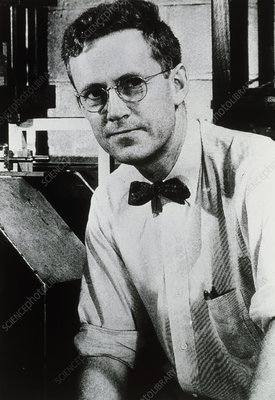 Edward Purcell, American physicist & NMR inventor