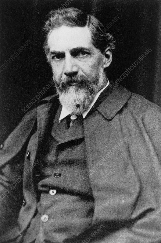 Flinders Petrie, British archaeologist - Stock Image