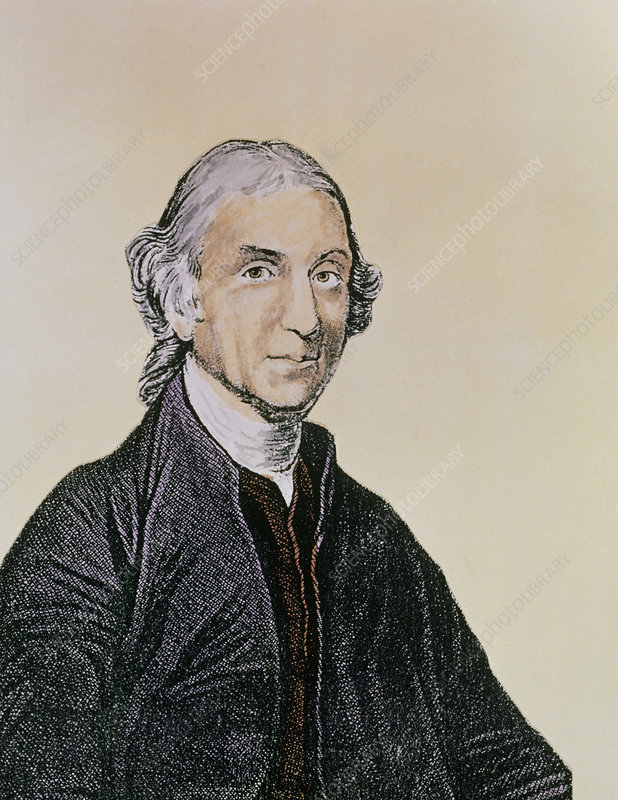 Engraving of Joseph Priestley, British chemist