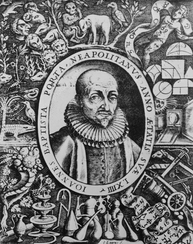 Giovanni Battista della Porta, natural philosopher