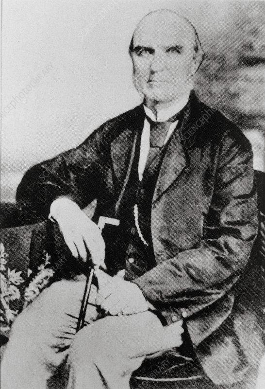 Portrait of the British astronomer Norman Pogson