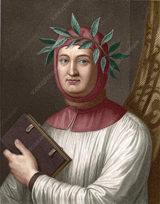 Francesco Petrarch - Stock Image - H416/0270 - Science ...