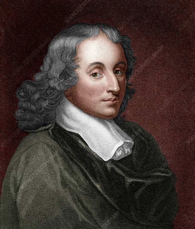 Blaise Pascal, French mathematician