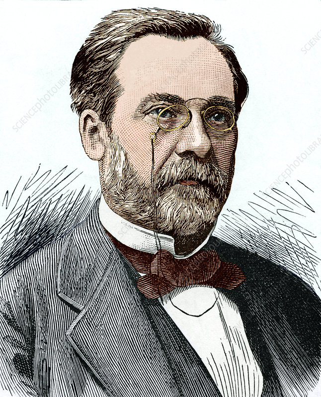 Louis Pasteur French Chemist Stock Image H4160311 Science