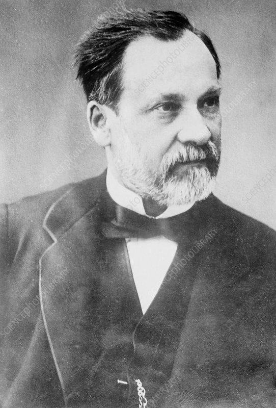 Louis Pasteur French Microbiologist Stock Image H4160379