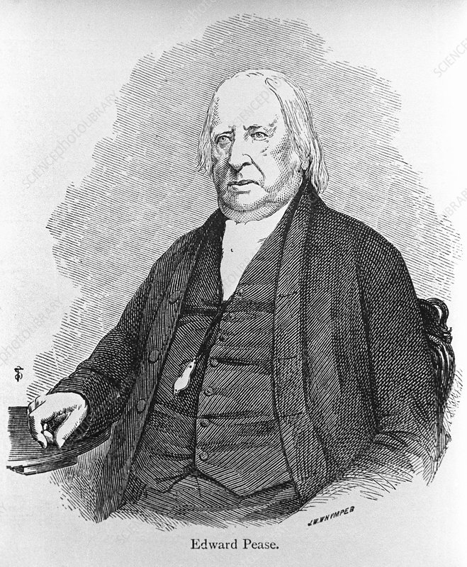 Edward Pease, English railway owner