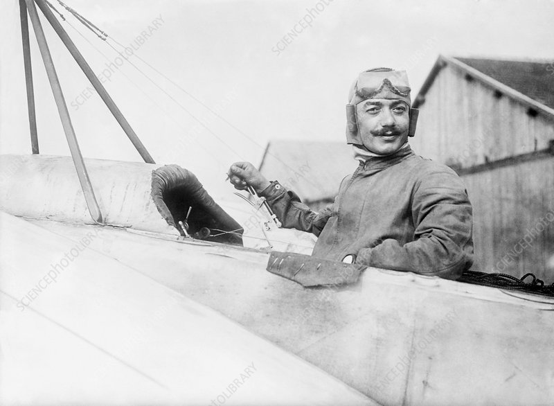 Adolphe Pegoud, French aviator