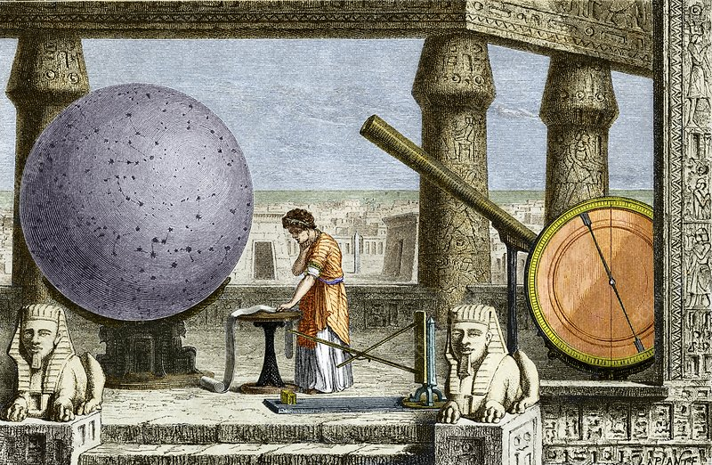 Ptolemy's observatory, 2nd century AD