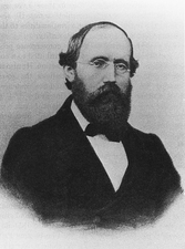 Portrait of Georg Friedrich Bernhard Riemann.