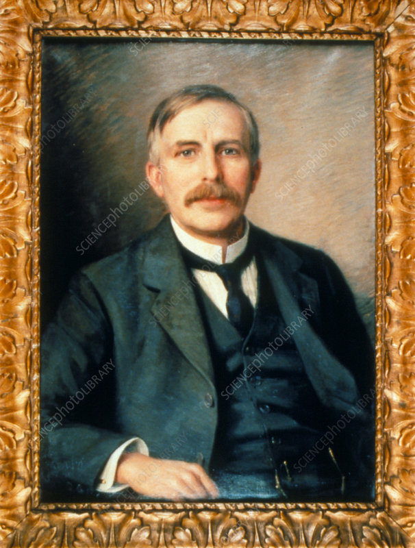 Portrait of physicist Ernest Rutherford, 1917