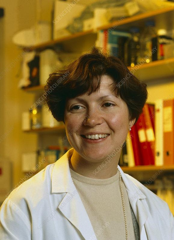 British AIDS researcher, Dr. Sarah Rowland-Jones - H4180125-British_AIDS_researcher,_Dr._Sarah_Rowland-Jones-SPL