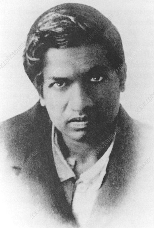 Indian mathematician, Srinivasa Ramanujan