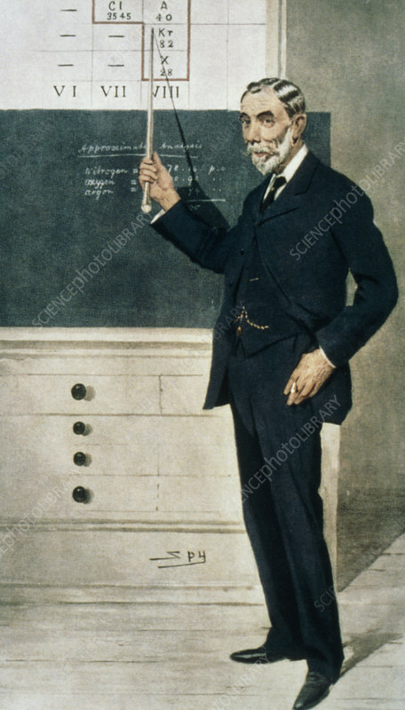 Sir William Ramsay, Scottish chemist