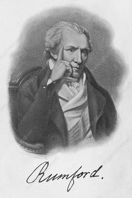 A biography of count rumford a physicist