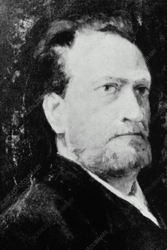Portrait of the German botanist Julius von Sachs