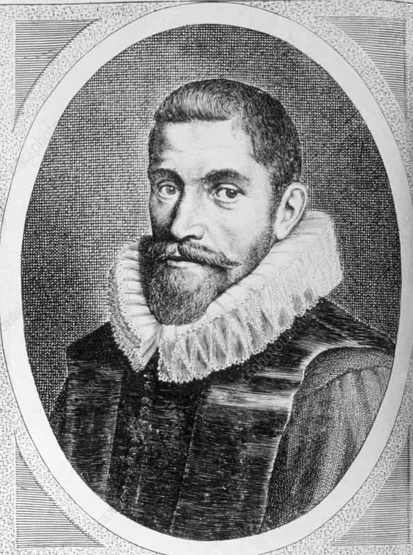 Portrait of Willebrord Snell, 1580-1626.