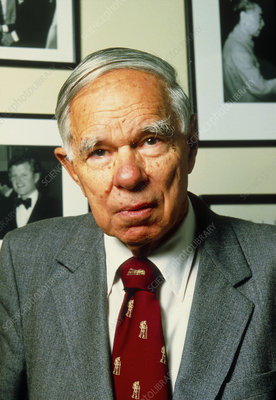 American physicist and Chemist Glenn T Seaborg
