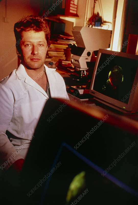 Dr Quentin Sattentau, French AIDS researcher