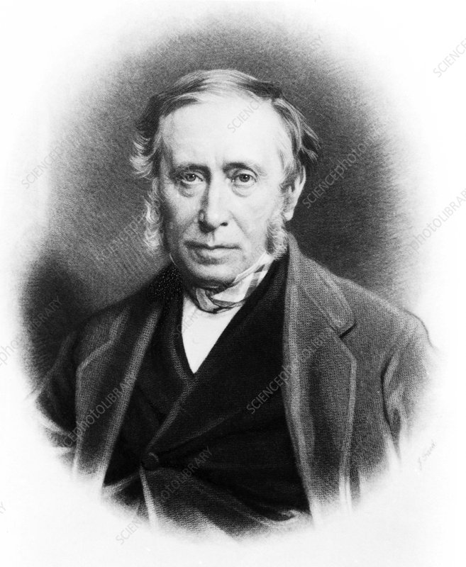 Scottish surgeon James Syme (1799-1870), aged 65