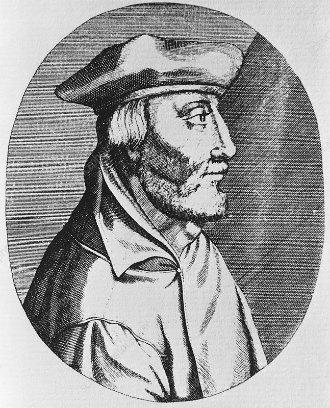 Jacobus Sylvius, French anatomist and physician