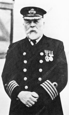 Edward Smith, Captain of the liner Titanic