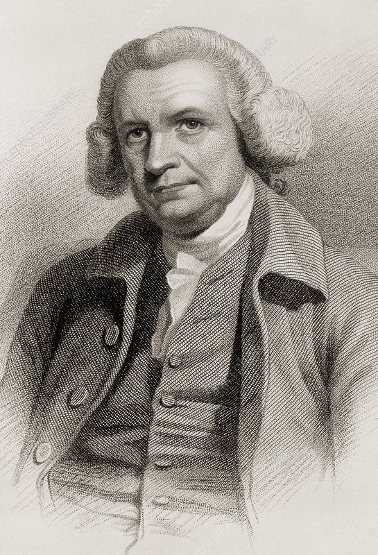 Portrait of John Smeaton, English engineer