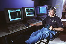 Dr Seth Shostak, SETI's public program's scientist