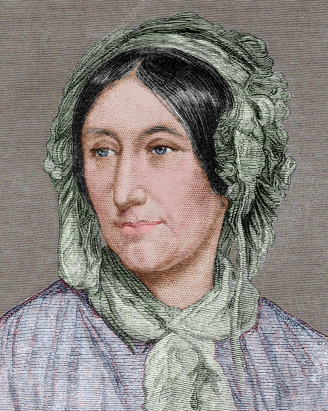 Mary Somerville, British mathematician