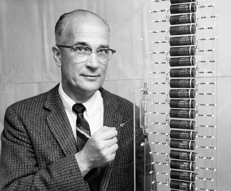 William Shockley, US physicist - Stock Image - H419/0421