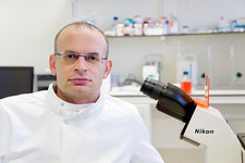 Professor Stojkovic, stem cell researcher