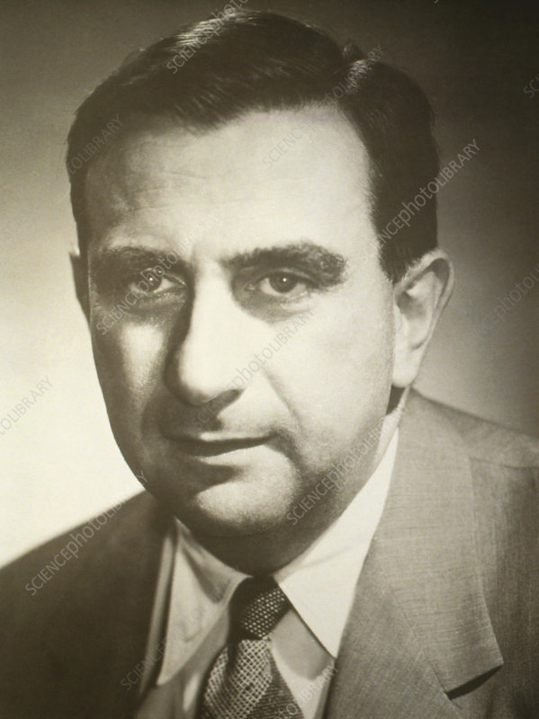 Portrait of American physicist Edward Teller