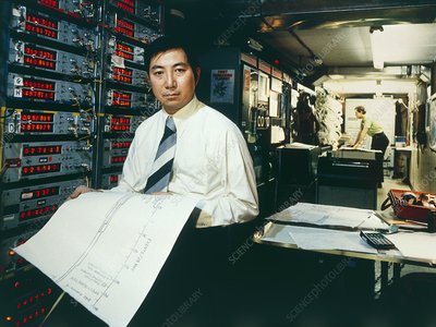 American physicist Professor Samuel Ting