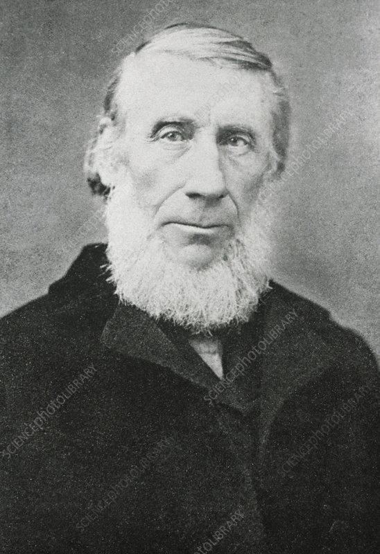 Portrait of the British physicist John Tyndall.