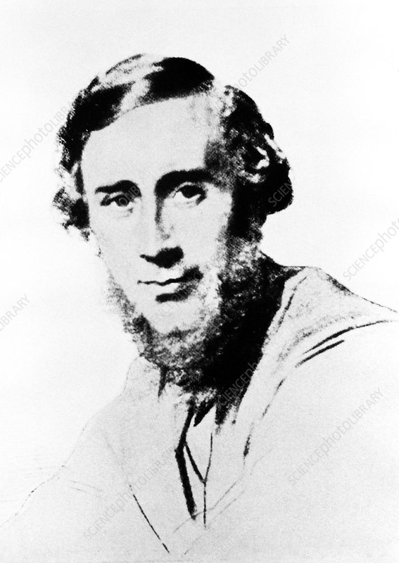 Portrait of John Tyndall, 1820-1893