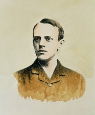 Portrait of the English physicist, J.J. Thomson