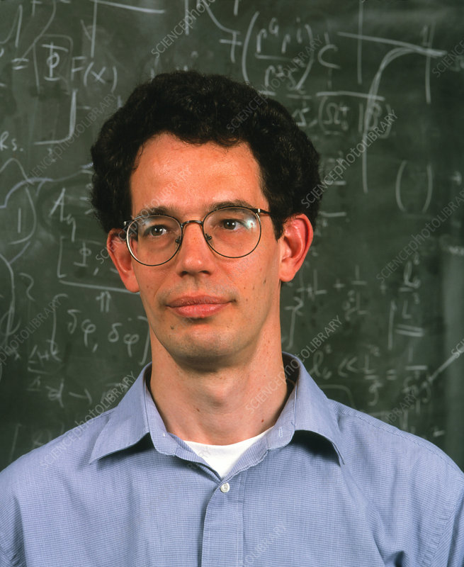 Portrait of physicist and mathematician Neil Turok