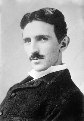 Nikola Tesla, Serb-US physicist